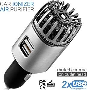 Car Air Purifier Ionizer – 12V