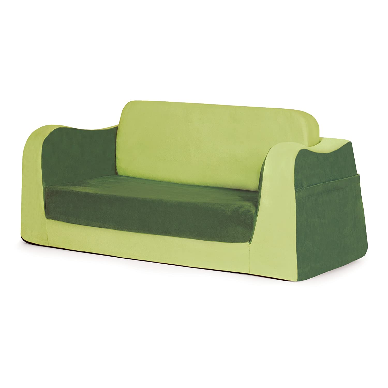 P'kolino PKFFLSAGR Little Reader Sofa - Green P' kolino