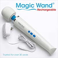 Original Magic Wand Rechargeable Cordless HV-270 by Vibratex with Free IntiMD Active Personal Trigger Pin Point Massager