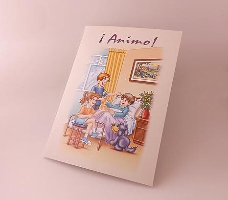 Amazon.com : Animo! --- tarjeta -- Spanish Greeting Card ...