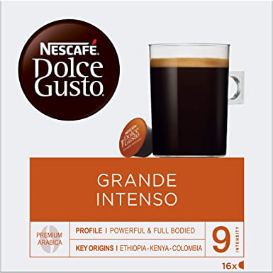 NESCAFÉ Dolce Gusto Cápsulas de Café Grande Intenso, Pack de 3 x ...