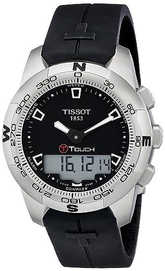 Tissot T0474201705100 - Reloj analógico de caballero automático con correa de acero inoxidable multicolor: Amazon.es: Relojes