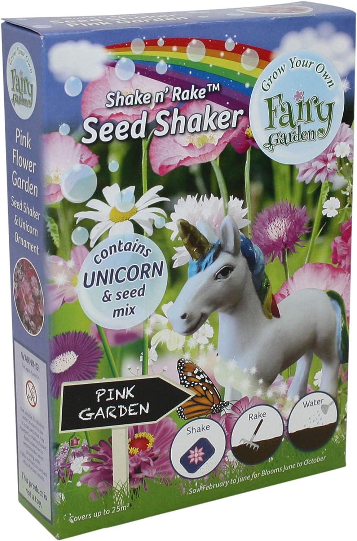 Unicornio Flor Semillas Shaker, Jardín Rosa, Cultiva tu Propio jardín de Hadas, Creatividad para Niños, Figurina, Artes y Manualidades: Amazon.es: Jardín