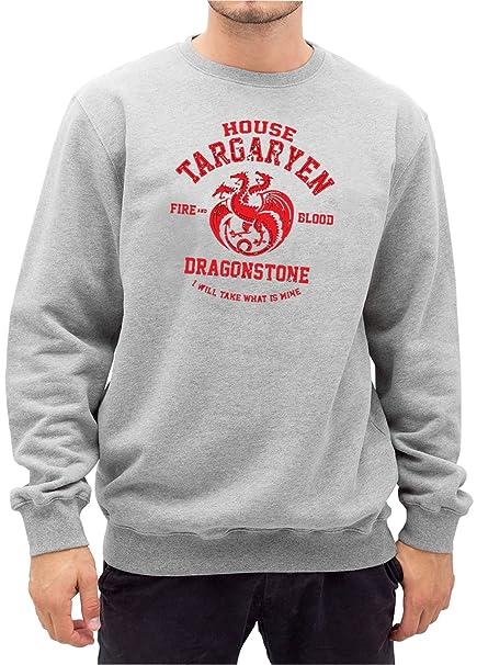 Certified Freak House Targaryen Sweater Gris: Amazon.es ...
