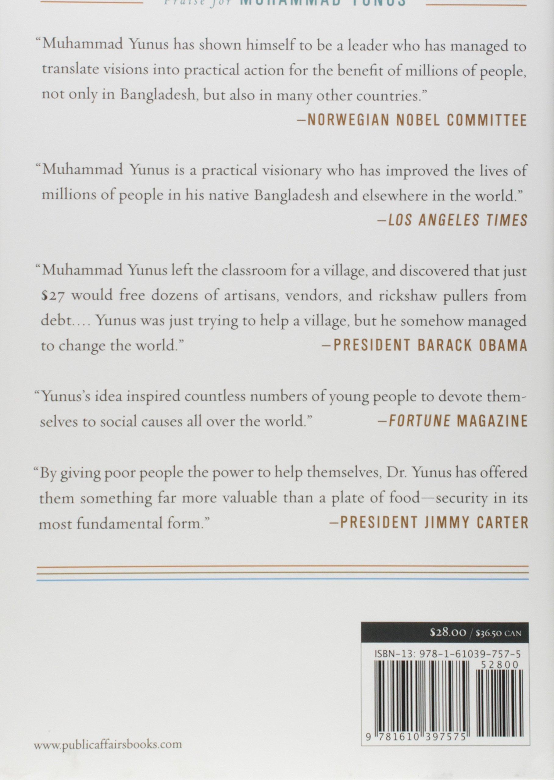muhammad yunus leadership style