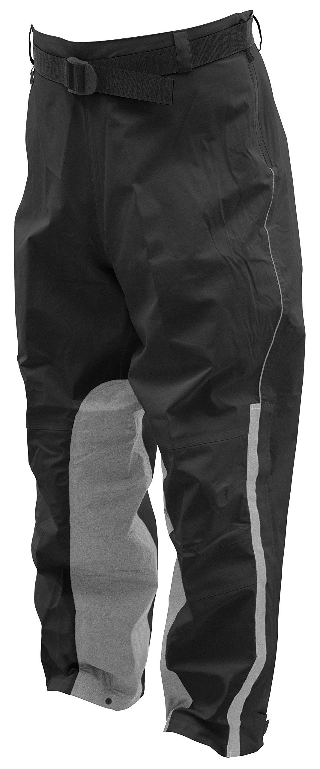 Frogg Toggs NTH85106-01SM ToadSkinz Reflective Pants, Black/Silver, Small