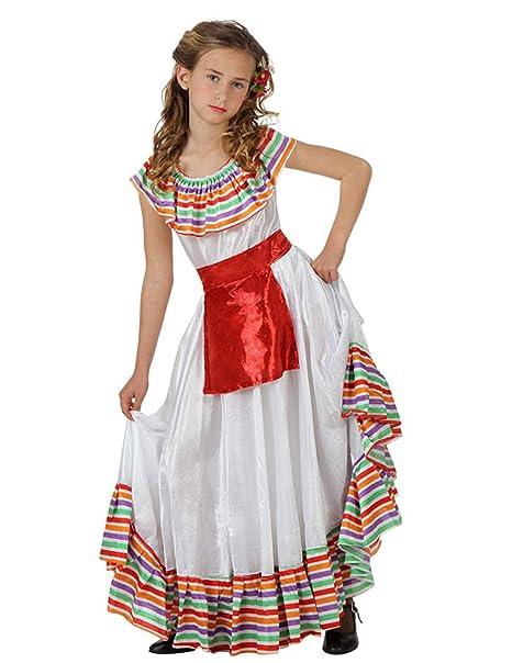 09ddafd57 Disfraz de Mejicana para niñas en varias tallas  Amazon.es  Juguetes ...
