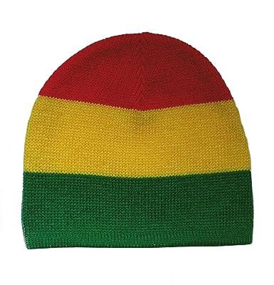 Luxus kaufen große Auswahl Genieße den niedrigsten Preis Black Out Rasta Afrika Beanie Mütze Strickmütze rot gelb ...