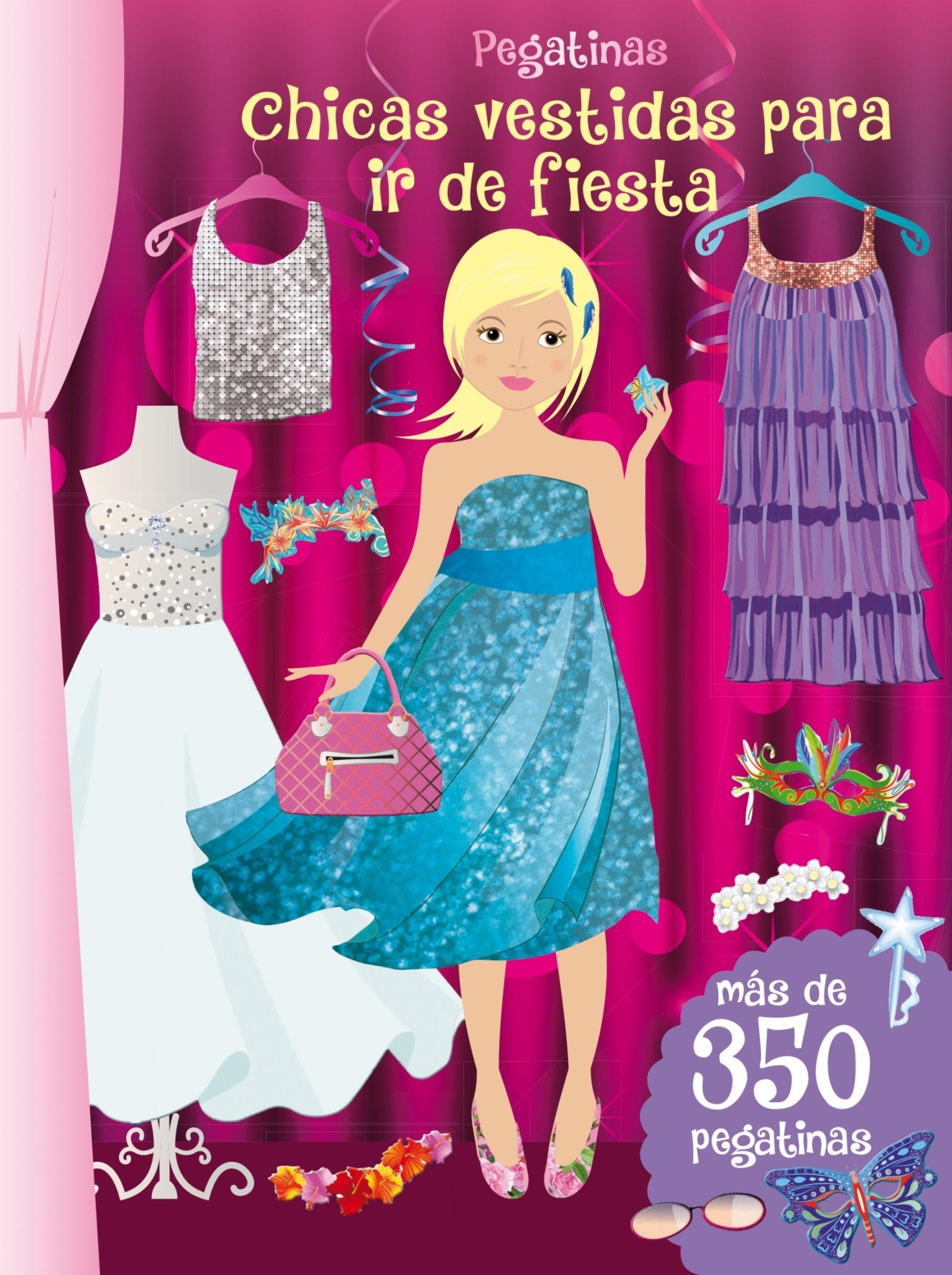 Pegatinas. Chicas Vestidas Para Ir De Fiesta PICARONA: Amazon.es ...