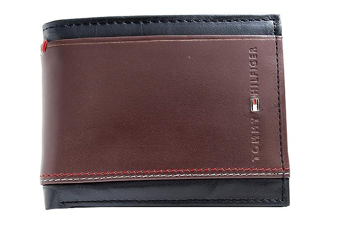TOMMY HlLFlGER Men Multicolor Genuine Leather Wallet