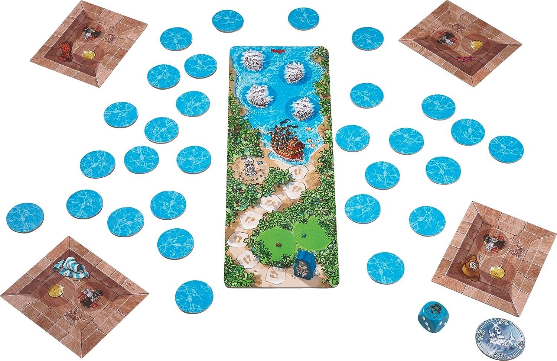 Haba 302789 - Juego táctico para Pensar y Trabajar Juntos (a Partir de 5 años), diseño de Pirata: Fay, Cyril: Amazon.es: Juguetes y juegos