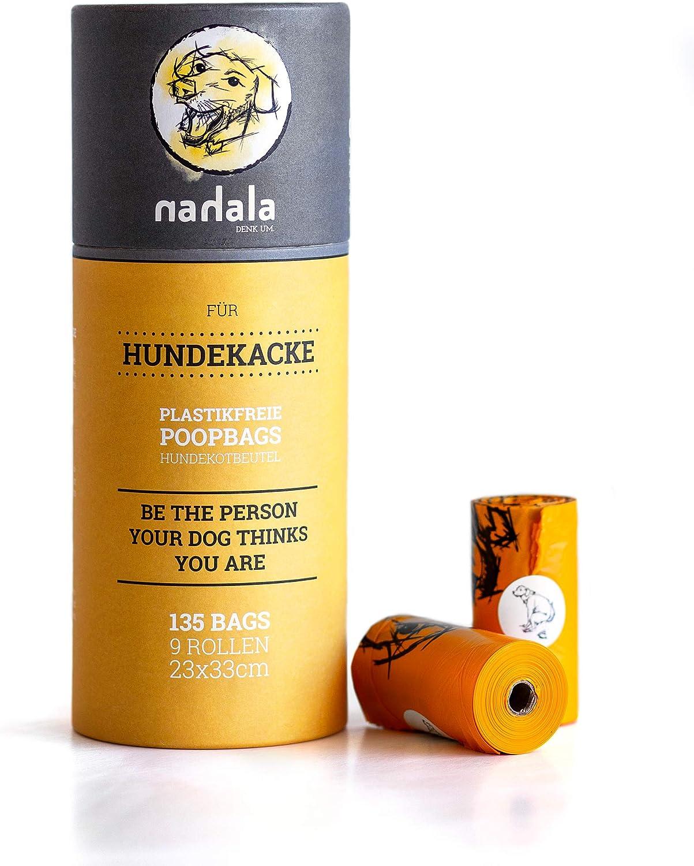 Nahala – Bolsas para excrementos de Perros, sin plástico ...