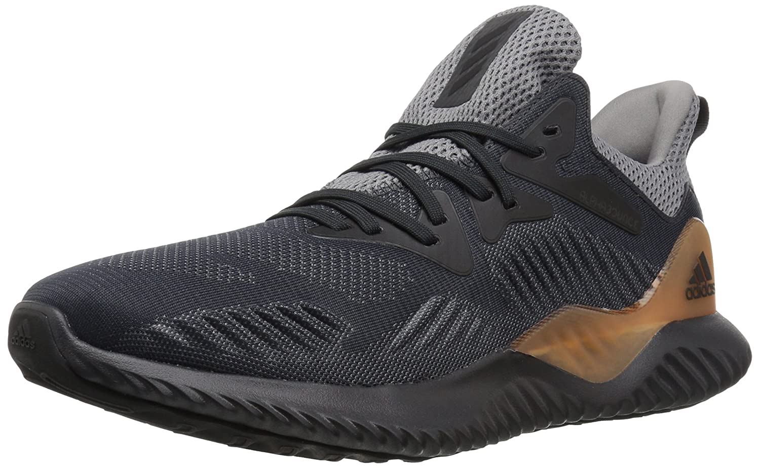 adidas Alphabounce Beyond M Running Shoe B0716X6MZZ 11.5 M US|Grey Four/Carbon/Dark Solid Grey