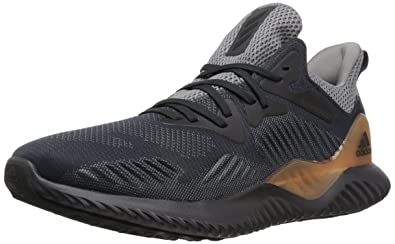 Adidas Alphabounce Size 13 Black White Running Shoe Men's