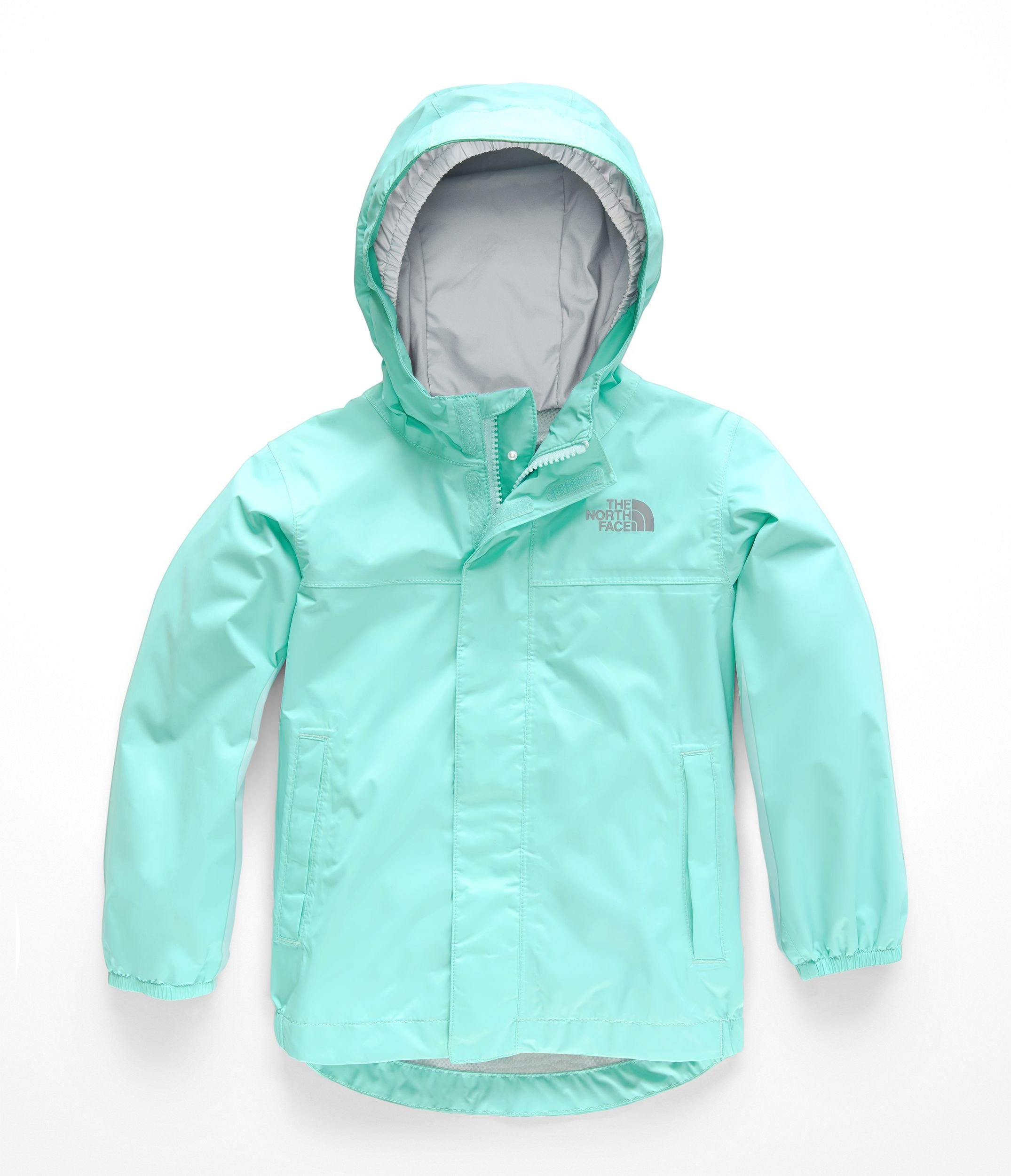 The North Face Todd Tailout Rain Jacket - Mint Blue - 6T