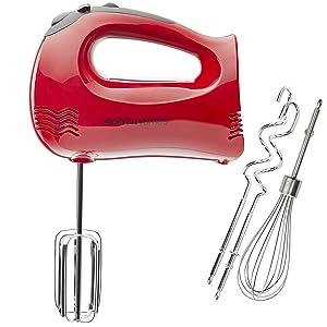 White VWH Long Handle Egg Mixer Tools Egg Kitchen Cake Baking Mixer Mini Handheld Egg Beater