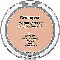 Neutrogena Healthy Skin Compact Lightweight Cream Foundation Makeup with Vitamin E Antioxidants, Non-Greasy Foundation…