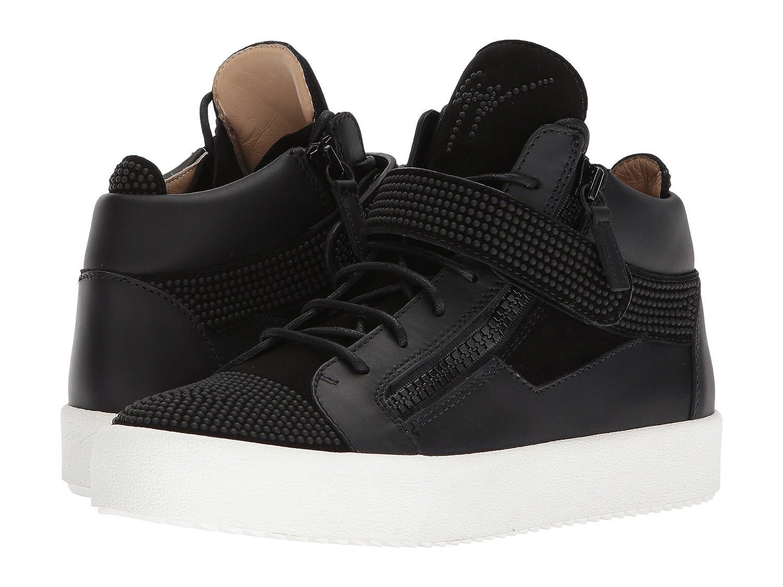[ジュゼッペザノッティ] メンズ スニーカー May London Small Crystal Mid Top Sneaker [並行輸入品] B07CZ9J65P