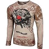 Shirts United Rusty Neal Herren Longsleeve T-shirt Langarmshirt Hemd Langarm Sweatshirt 10135 Reasonable Price