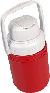 Coleman Beverage Cooler, Red, 1/3 Gallon