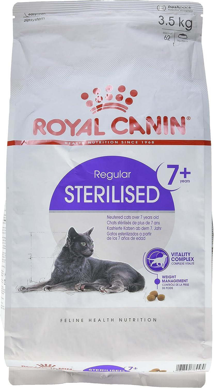 Royal Canin C-584637 Sterilised +7 - 3.5 Kg: Amazon.es: Productos ...