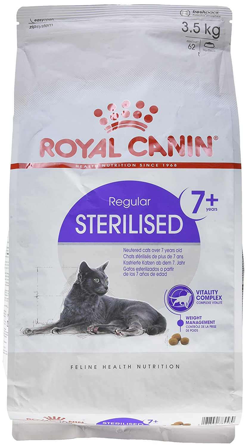 Royal Canin C-584637 Sterilised +7 - 3.5 Kg: Amazon.es: Productos para mascotas