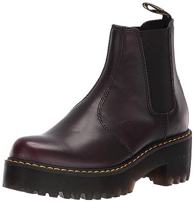ad5564a3b9c Dr. Martens Women s Rometty Chelsea Boot Burgundy 4 M UK (6 ...