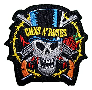 Guns N Roses Rock Band Symbol T Shirts Mg16 Iron On Patches By