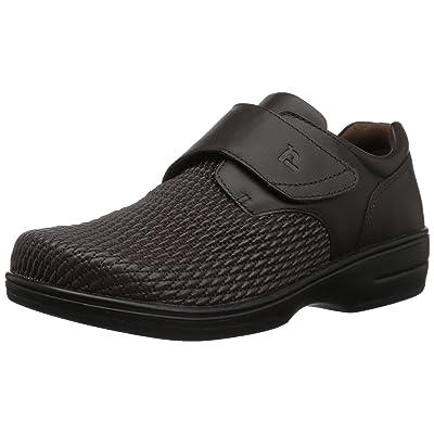 Propet Women's Olivia Slip-on Walking Shoe, Bronco Brown, 11 XX-Wide | Walking