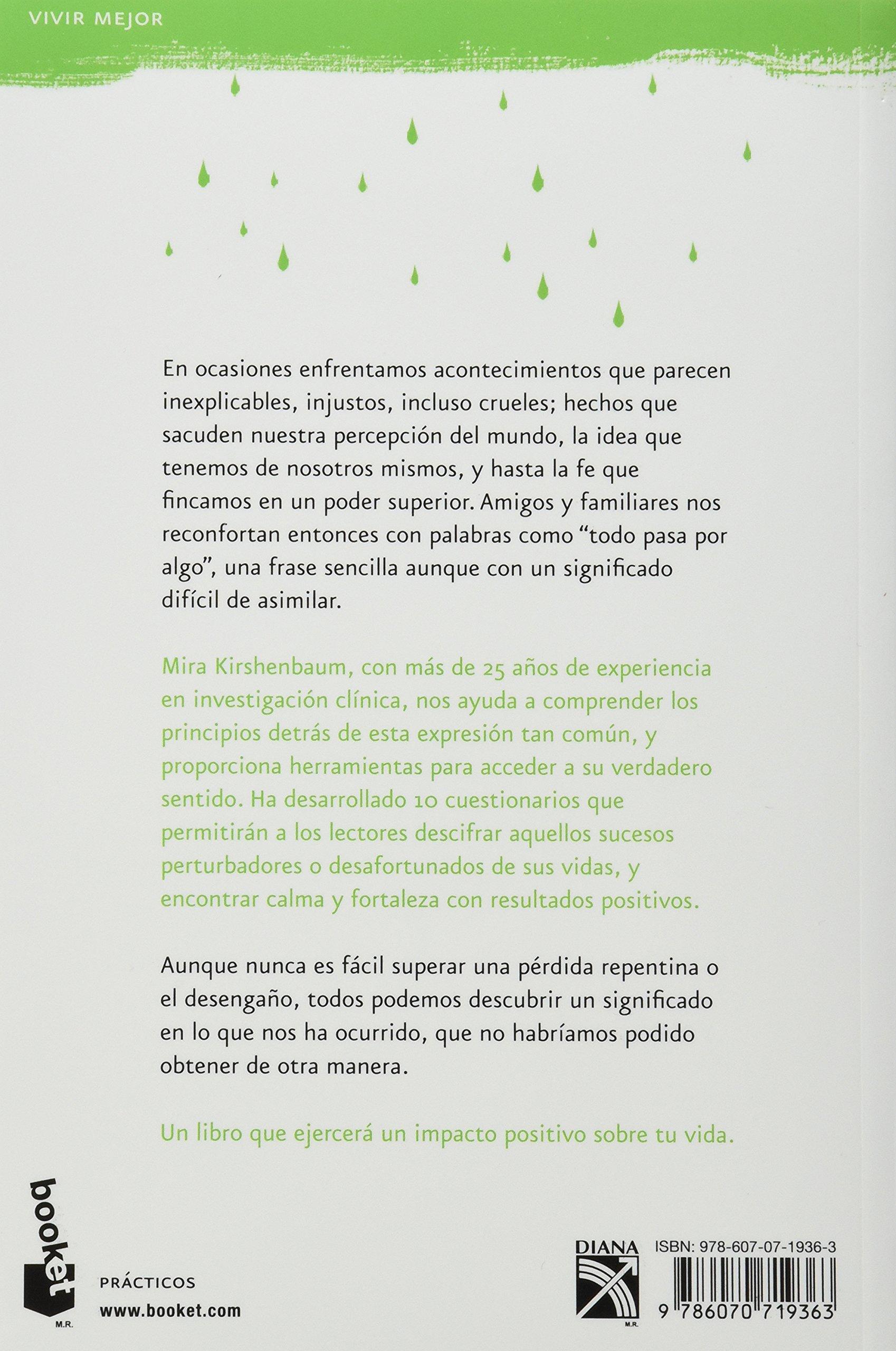Todo Pasa Por Algo Spanish Edition Mira Kirshenbaum