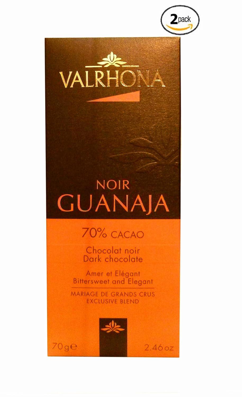 Amazon.com : Valrhona French Gourmet Chocolate Bars