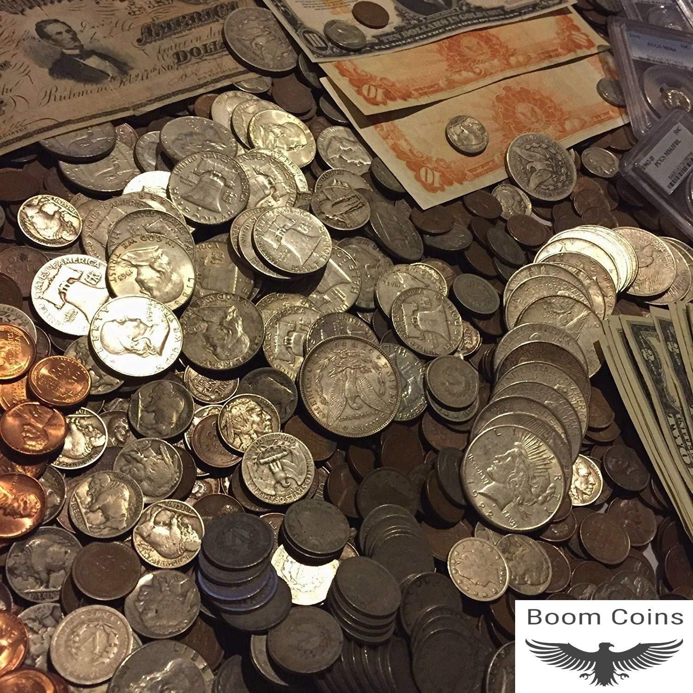 ✯ESTATE LOT OLD US COINS $✯GOLD .999 SILVER BARS BULLION✯ MONEY HOARD PCGS✯SALE✯