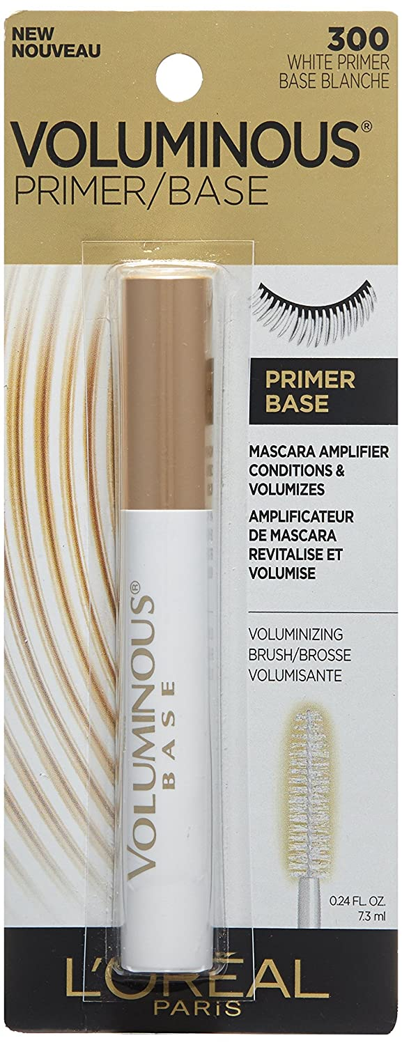 Amazon.com: LOreal Paris Cosmetics Voluminous Primer Mascara, 3 Count: Beauty