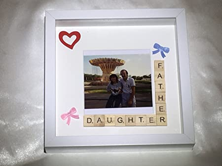 Personalised Scrabble Frame Father Daughter. Father Daughter ...