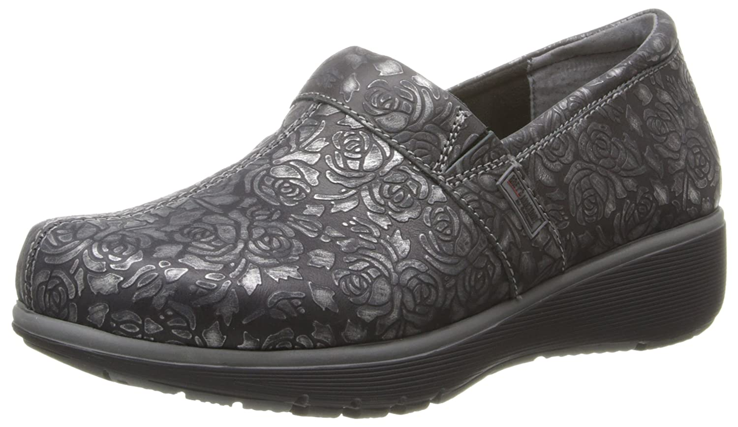 SoftWalk Women's Meredith Clog B00J0AGRK8 10 B(M) US|Black Met