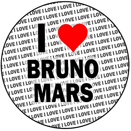 I Love Bruno Mars llavero - regalo - cumpleaños - Navidad ...