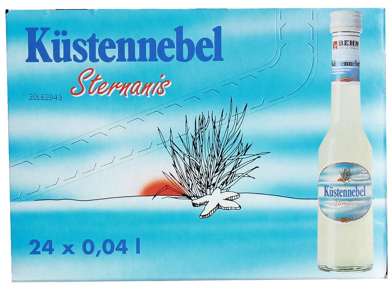 Behn - Küstennebel Anislikör - 12x0,1l: Amazon.de: Bier, Wein ...