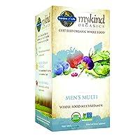 Garden of Life Multivitamin for Men - mykind Organic Men's Whole Food Vitamin Supplement...