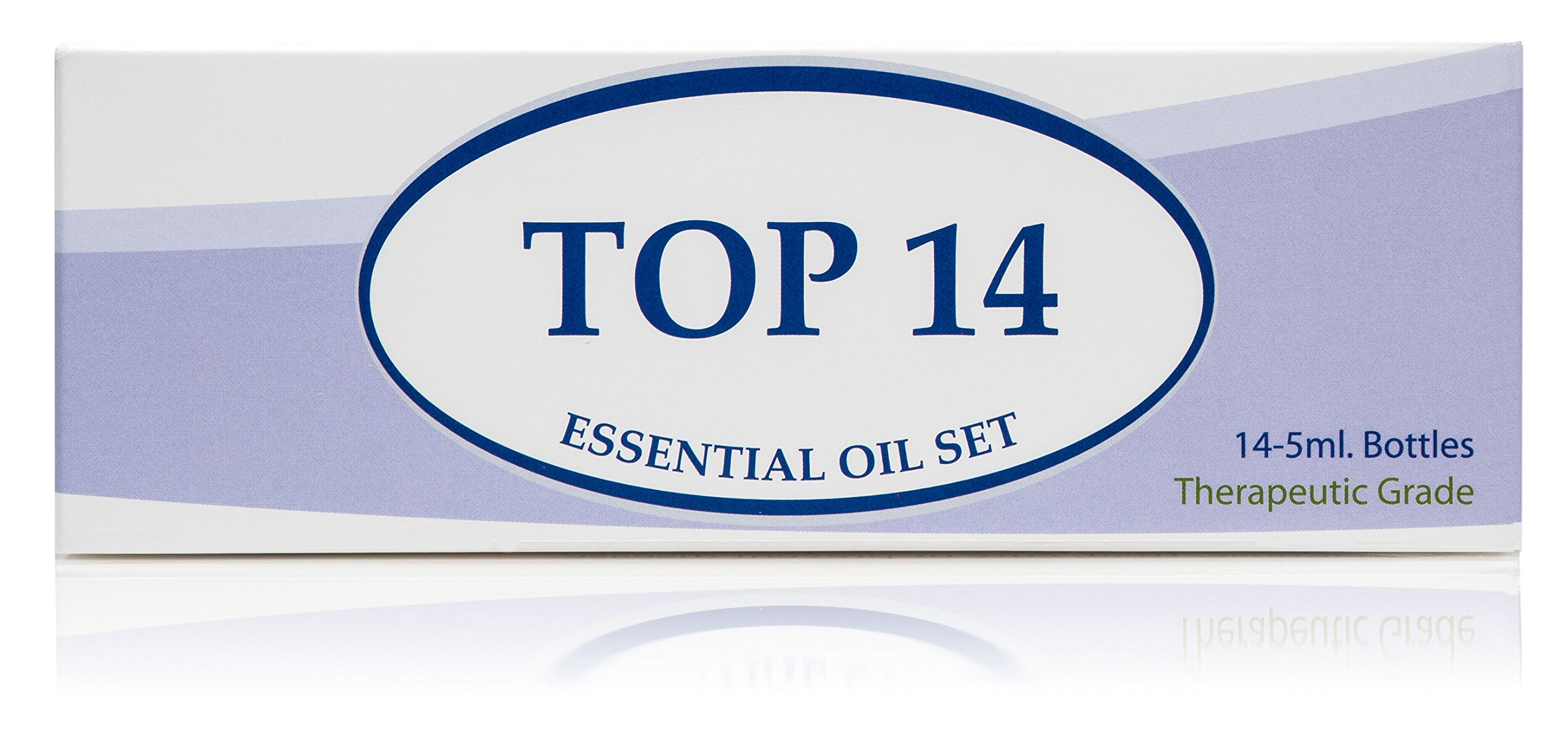 Essential Oil Set 14-5 ml Therapeutic Grade 100% Pure Frankincense, Lavender, Peppermint, Rosemary, Orange, Tea Tree, Eucalyptus, Grapefruit, Lemon, Lime, Clove, Spearmint, Lemongrass, Cinnamon by Plant Guru (Image #5)