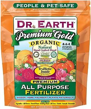 Dr. Earth Premium Gold All Purpose Fertilizer