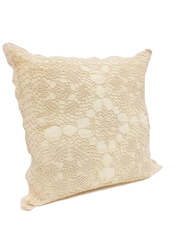 FENNCO estilos hecho a mano diseño de flores Crochet Lace ...