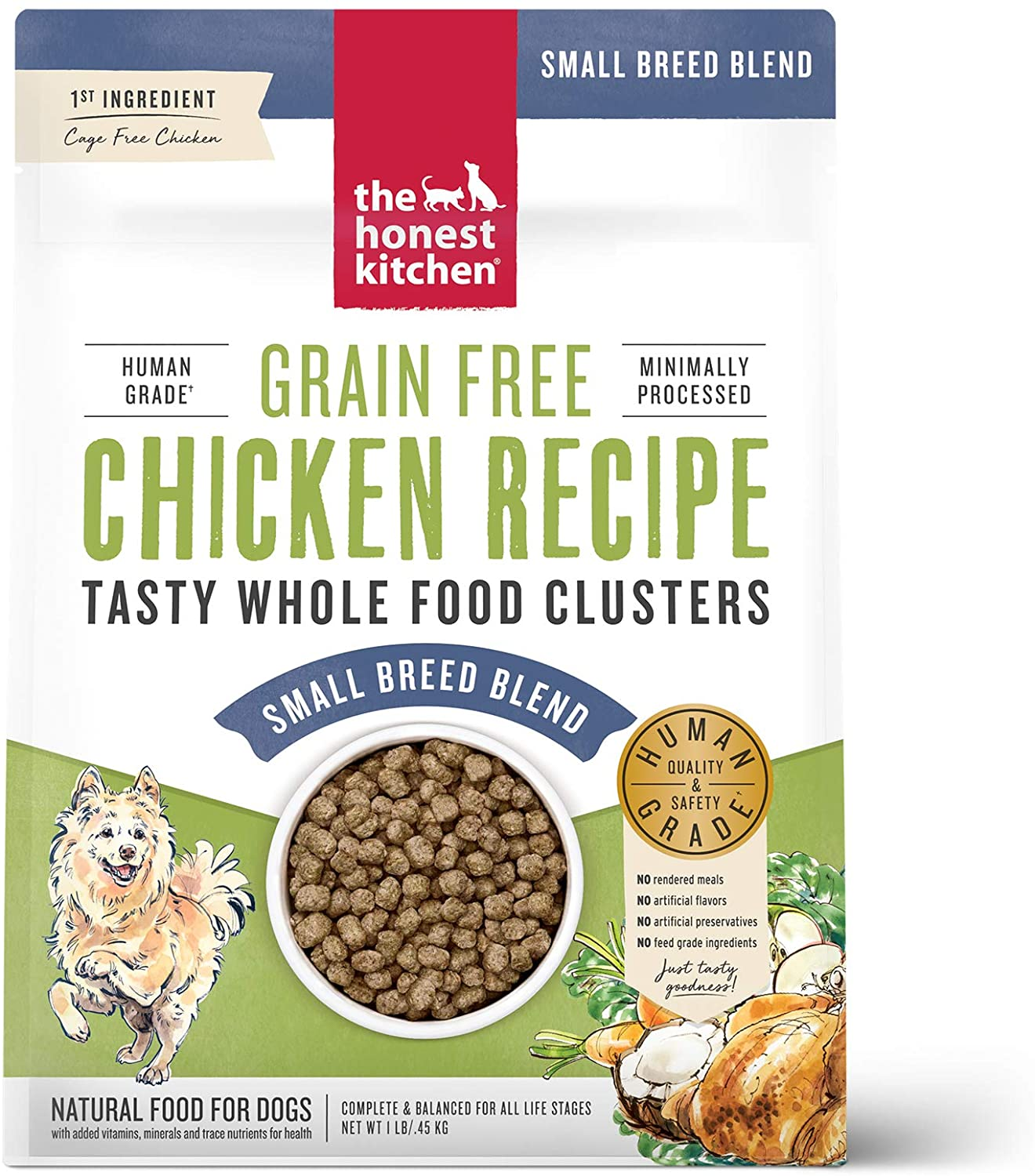 Whole Food Clusters Small Breed Grain