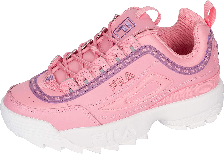 Fila Girls' Disruptor II Repeat Sneaker