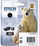 Epson Original T2601 Tintenpatrone Eisbär, Singlepack schwarz