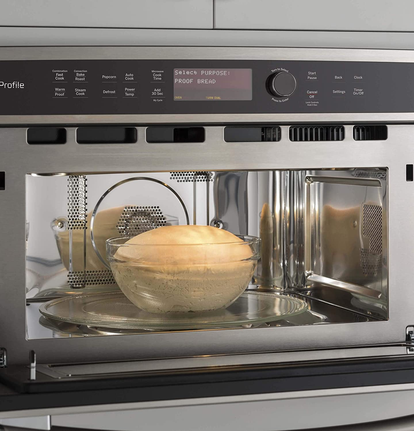 GE PWB7030ELES Microwave Oven