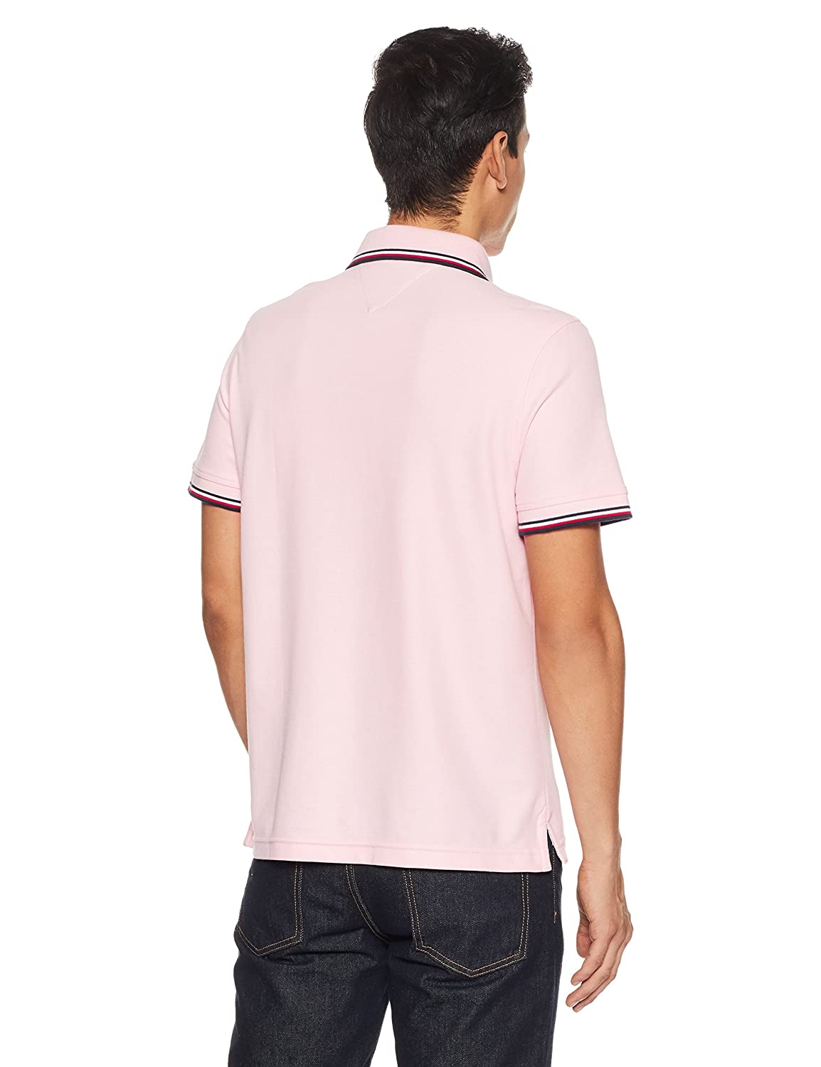 ec09619ef Tommy Hilfiger Men's Plain Regular Fit Polo: Amazon.in: Clothing &  Accessories