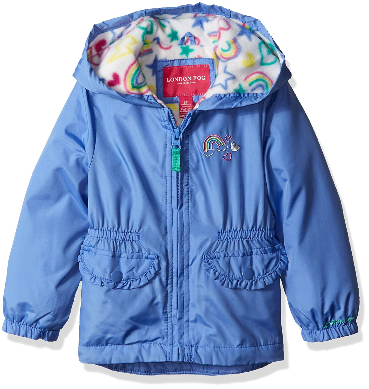 784fecda6e16 Amazon.com  London Fog Girls  Fleece Lined Midweight Jacket with ...