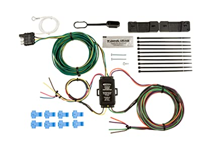 Astounding Amazon Com Hopkins 55999 Universal Towed Vehicle Wiring Kit Automotive Wiring Cloud Inamadienstapotheekhoekschewaardnl