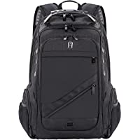 Travel Laptop Backpack with USB Charging Port Business Anti-Theft Water Resistant Polyester Travel Backpack School Bookbag for College Up to 15.6-Inch Laptop and Notebook