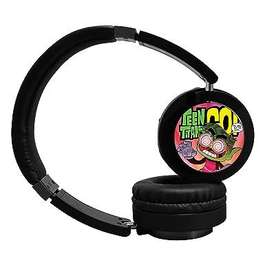 teen-tit-go funda para inalámbrico Bluetooth moda auriculares de auriculares Negro